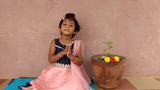 /Bhagavad Gita /shloka 2.11 /baby Dhanishka /Inspired by /baal Gopal
