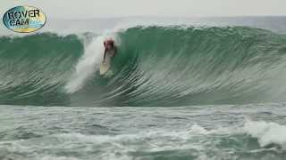 Surfing in the Caribe, Costa Rica 3/20/14