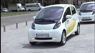 ТК Донбасс - Электрокары в Донецке(На электромобиле в Украине далеко не уедешь. Зарядить экологичную машину негде - обычные АЗС не предоставля..., 2012-08-08T19:44:19.000Z)