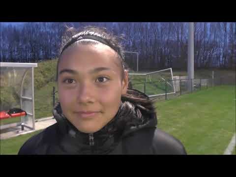 Ria Clara Fröhlich nach Belgian Red Flames U15 - Deutschland U15 auf 05.12.2018