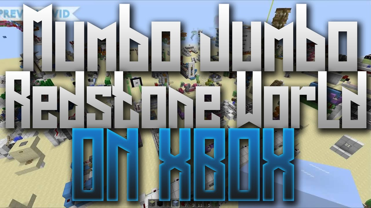 Mumbo Jumbo's Redstone World ON XBOX:: Minecraft Converted ...