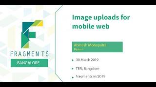 Image uploads for mobile web