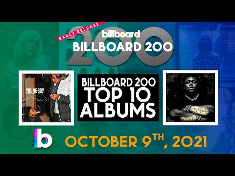 Early RELEASE! Billboard 200 Albums Top 10 October 9th, 2021 Countdown