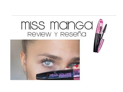 L´Oreal VOLUMINOUS MISS MANGA   Review y Reseña (Argentina ...