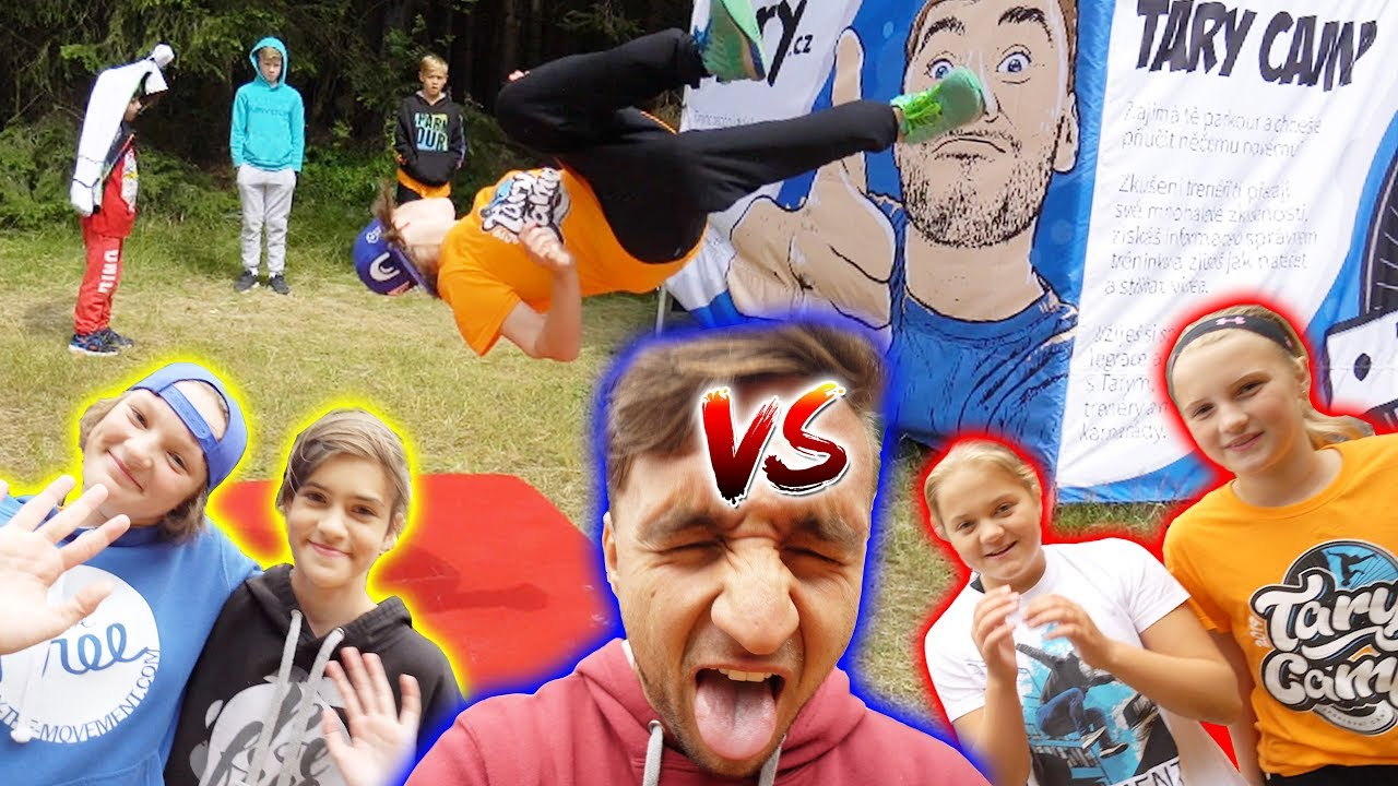 Dívčí Parkour Horse Challenge #1   Tary Camp 2 vs. 2
