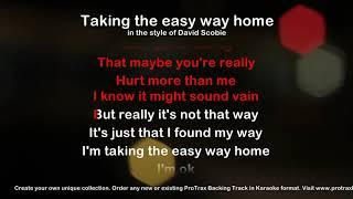 Taking the easy way home - ProTrax Karaoke Demo