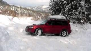 スバル フォレスター雪道走行  Subaru Forester Running on Snow