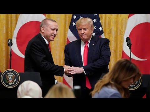 L'accueil chaleureux de Donald Trump à Recep Tayyip Erdogan
