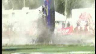 Jet boat crashes