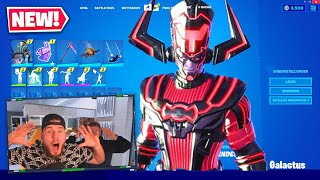 der *NEUE* GALACTUS SKIN in Fortnite ?!