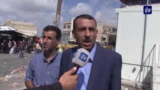 حملة لإزالة العوائق في مجمع سفريات بيت رأس - (17-10-2017)