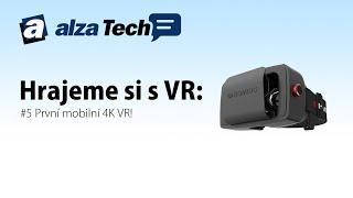 Hrajeme si s VR #5: Virtuální realita - První mobilní 4K VR! - AlzaTech #248