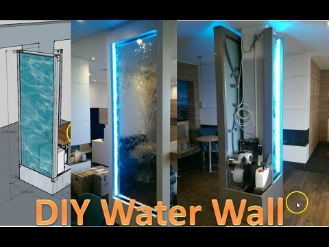 How To Build Automatic Indoor Waterfall