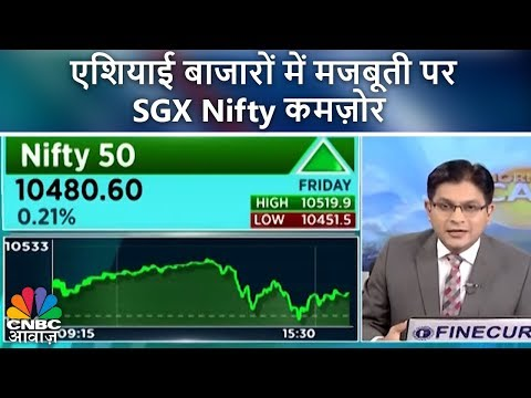 एशियाई बाजारों में मजबूती पर SGX Nifty कमज़ोर | Morning Call | 16th April 2018 | CNBC Awaaz