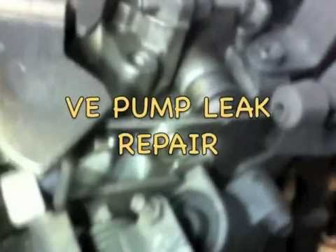 VE Pump Leak Repair