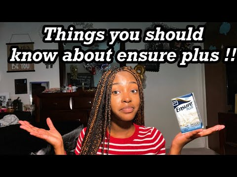 3 THINGS YOU MUST KNOW ABOUT ENSURE PLUS‼️