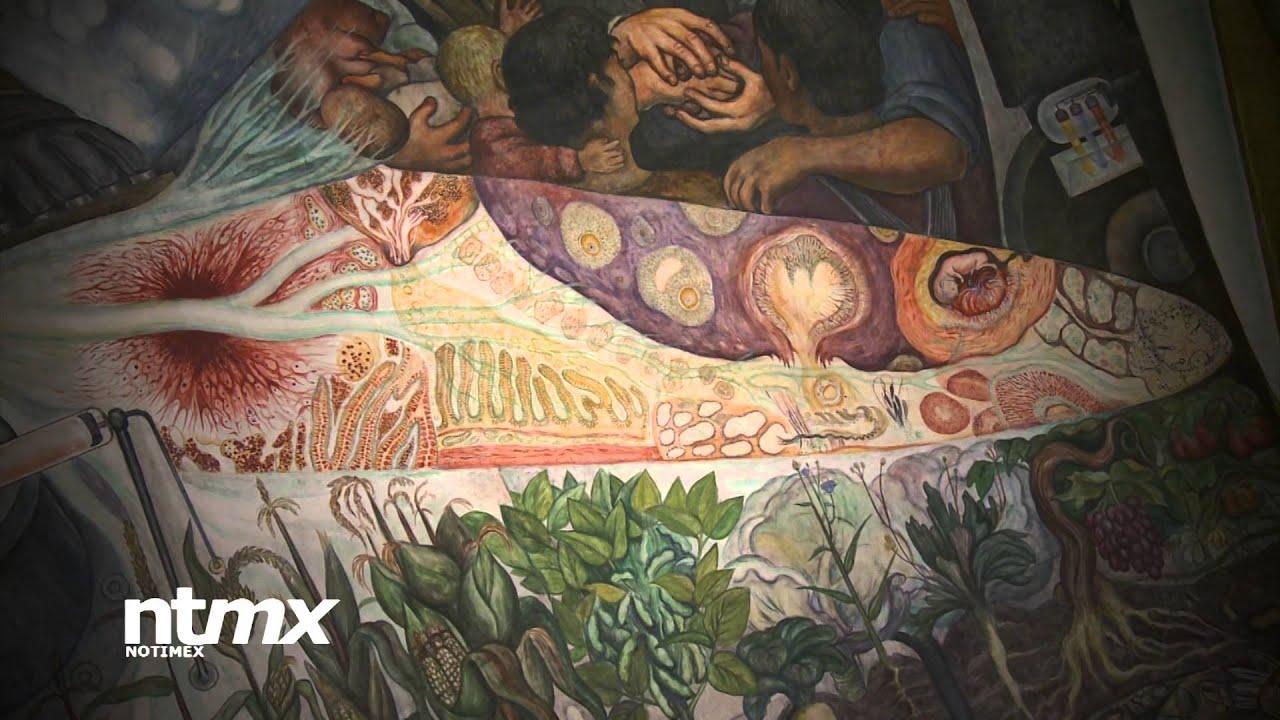 Se cumplen 80 a os de p lemico mural de diego rivera en for Diego rivera mural new york