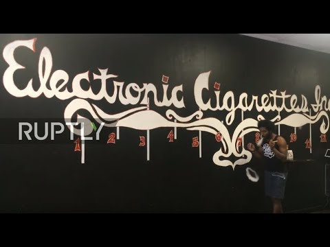 LIVE: King of Vapes creates art with smoke