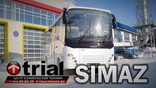 Обзор автобуса SIMAZ на шасси ISUZU NQR90