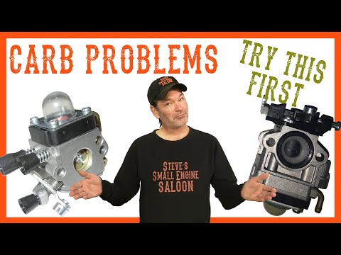 How To Rebuild a Carburetor on a Chainsaw, Weedeater Etc.