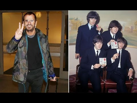 Sir Ringo Starr jets into LA after being knighted