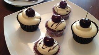 How To Make: Chocolate & Cherry Muffins