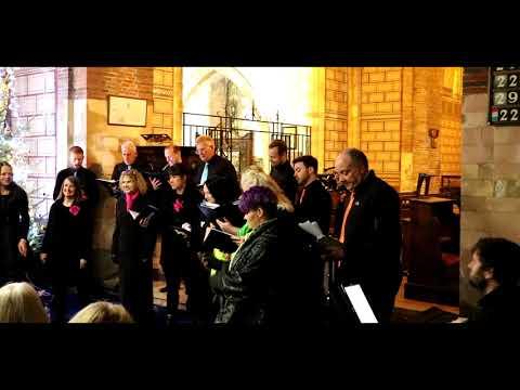 P&O Ferries Choir Christmas performance