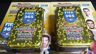 MEGA POJEDYNEK NA DUŻE PUSZKI KOLEKCJONERA FIFA 365 2018 JA TO MAM SZCZĘŚCIE