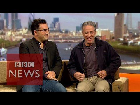 Jon Stewart & Maziar Bahari talk 'Rosewater' to Andrew Marr  - BBC News