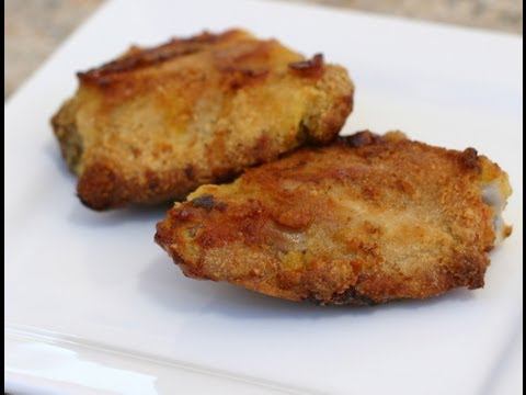 Oven Fried Chicken That Tastes Like Deep Fried!  Healthy -  Rockin Robin Cooks