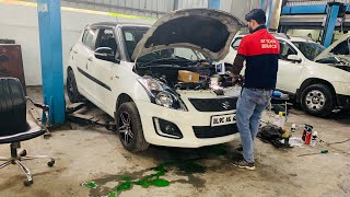 My Swift's Coolant Leaked | Taking My Swift To Manali | Maruti Suzuki Swift Full Car Service