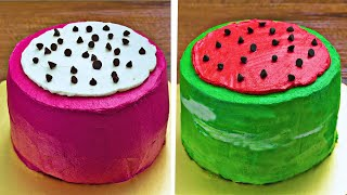 Watermelon Cake Decoration Ideas | DIY Quick and Easy Recipes | Hoopla Recipes