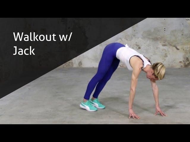 Walkout W/ Jack - hoe voer ik deze oefening goed uit?