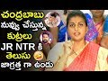 Mr Chandrababu Naidu Beacareful Jr Ntr Is Aware Of Your Plans || Mla Roja || Tollywood Book