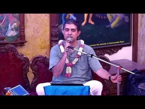 Srimad Bhagavatam Class 11.2.46 by Sridama Sakha Prabhu at ISKCON Chowpatty on 27 May 2017