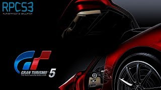 Gran Turismo 5 - RPCS3 TEST (InGame / Graphical Issues)