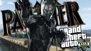 GTA 5 Mods - The Black Panther Mod is here by popular demand! The c...