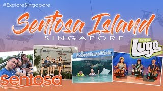 SENTOSA Singapore | Sky Line Luge | Adventure River