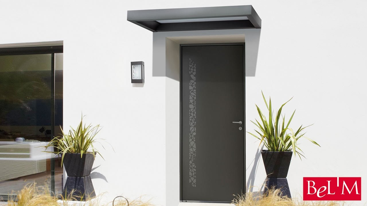 Installation d 39 une marquise clairante bel 39 m youtube for Porte de garage bel m