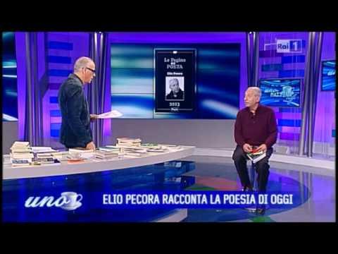 Elio Pecora a Uno Mattina parla della casa editrice Pagine  YouTube