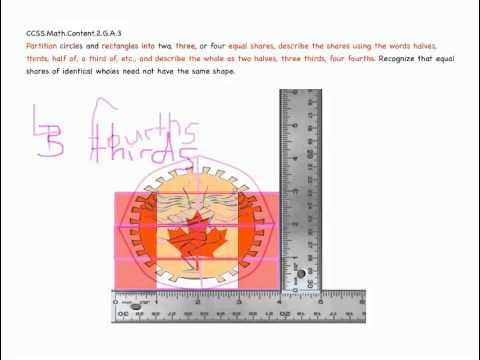 Common Core Geometry 2nd Grade