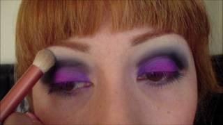 PURPLE & BLACK EYE SHADOW TUTORIAL Thumbnail