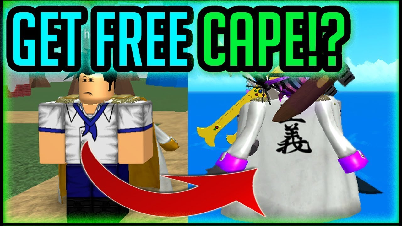 How To Get Cape Join Marines One Piece Millenium Roblox