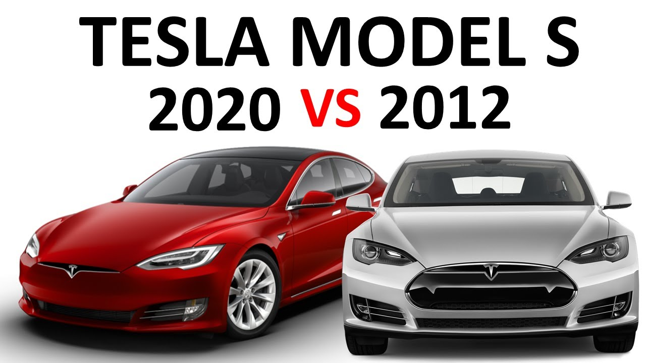 2012 vs 2020 tesla model s how much has the model s