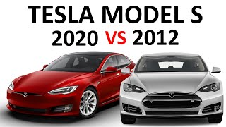 2012 VS 2020 Tesla Model S: How Much Has the Model S Improved in 9 Years?