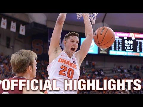 Tyler Lydon Official Highlights  Syracuse Forward