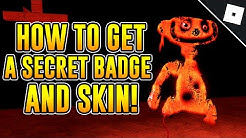 How to get the KCAB EMOC T'NOD DNA HSARC I FI DNA BADGE + THE ATROCITY SKIN in BEAR | Roblox