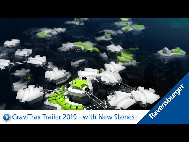 GraviTrax Trailer 3/ 2019: with New Stones!
