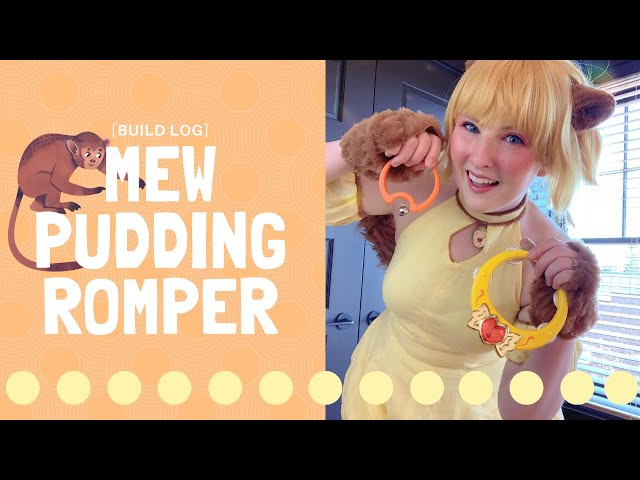 [Build Log] Mew Pudding Romper!