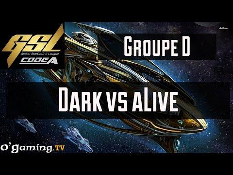 Dark vs aLive - GSL Saison 3 Code A - Groupe D